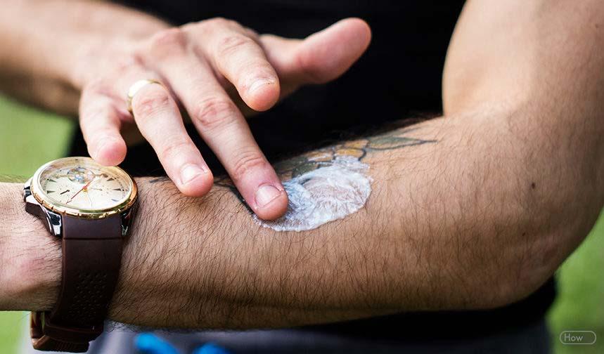 creme hydratation tatouage