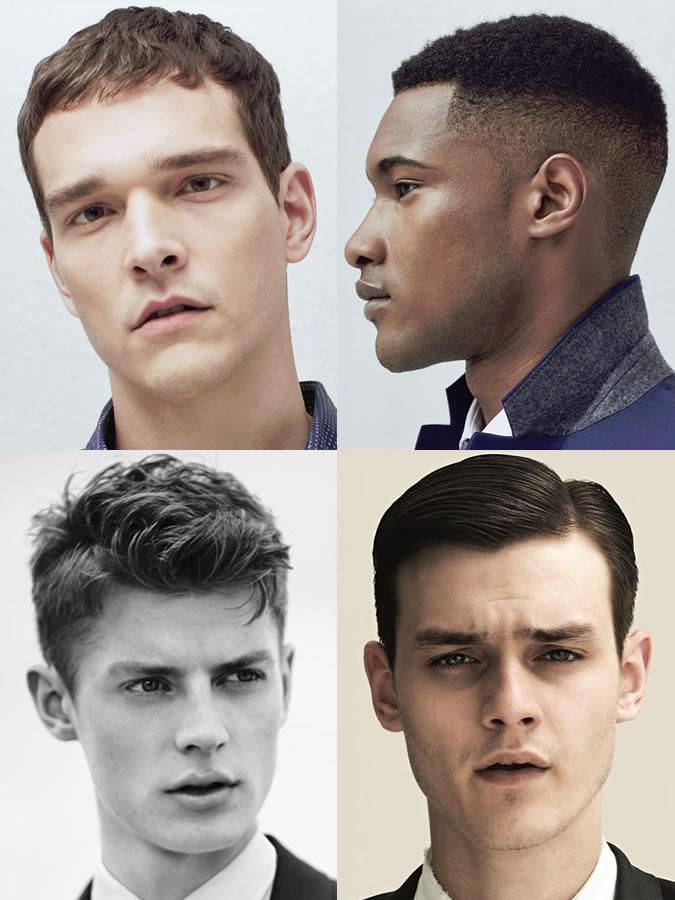 exemple coiffure homme visage carré