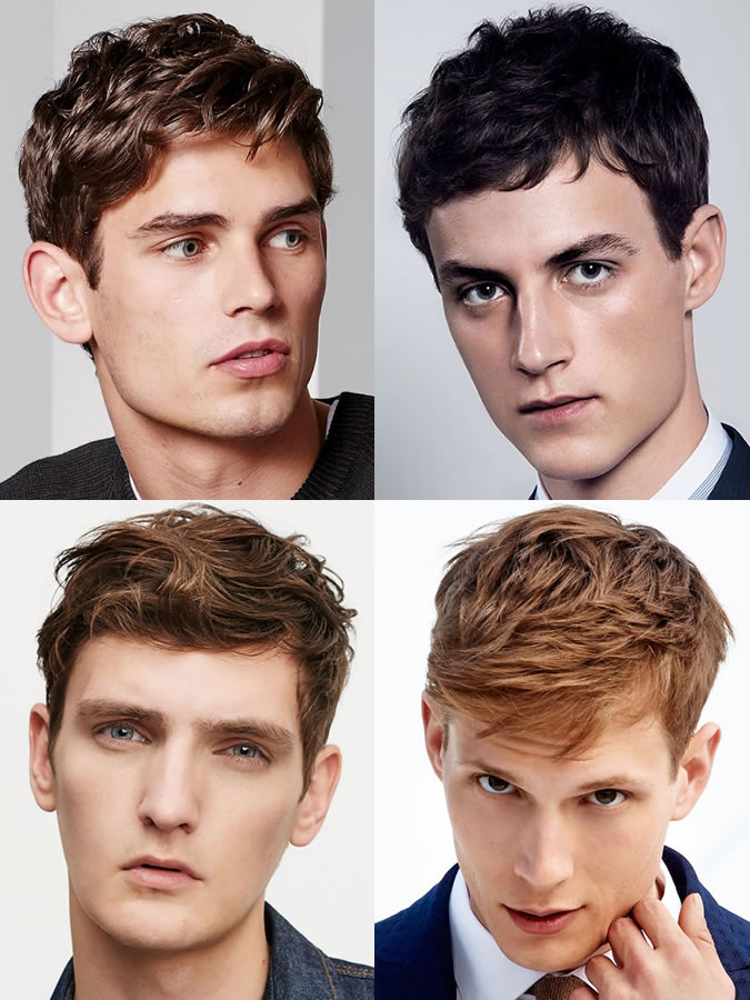 exemple coiffure homme visage oblong