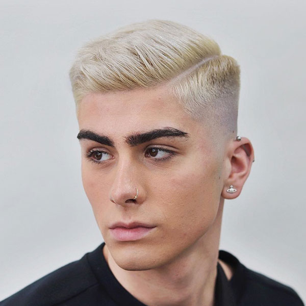 COUPE CHEVEUX COURTS HOMME BLOND 4