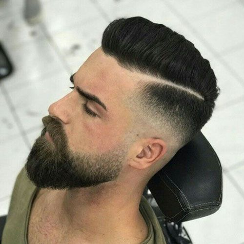 COUPE HOMME CHEVEUX COURTS AVEC BARBE 3