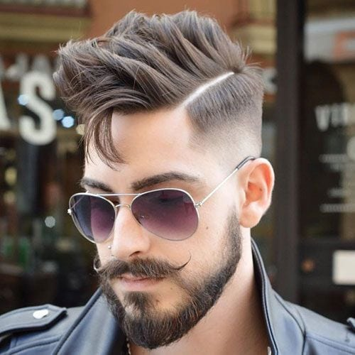 COUPE HOMME CHEVEUX COURTS AVEC BARBE 6