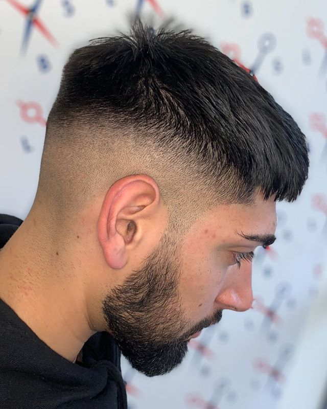 COUPE HOMME CHEVEUX COURTS AVEC BARBE 9