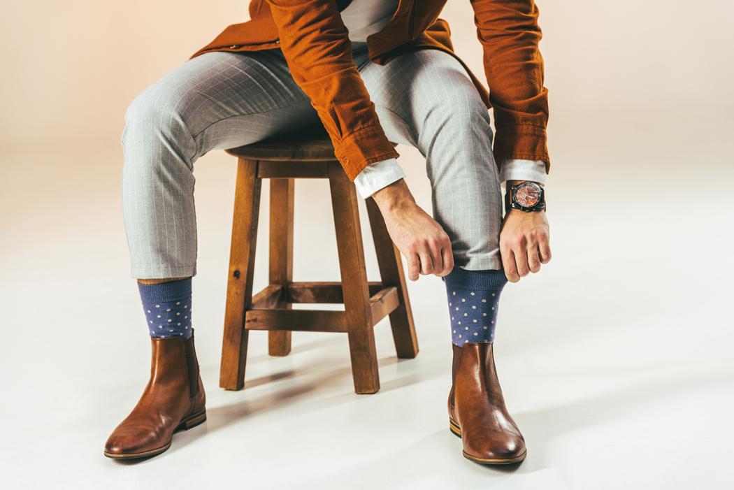 chaussettes homme tendances