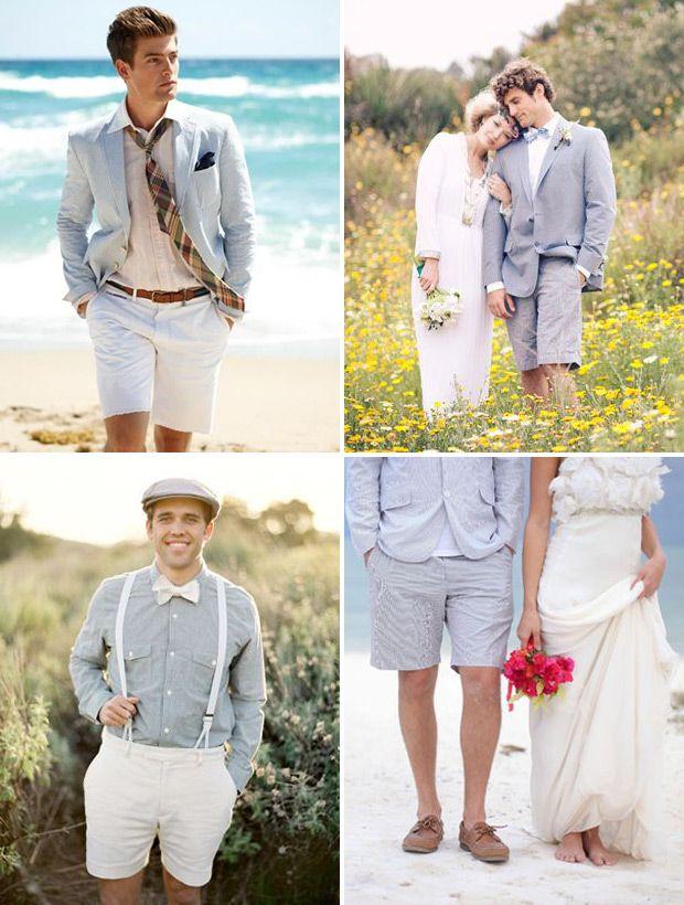 Comment porter le bermuda à un mariage sans fashion faux pas ?
