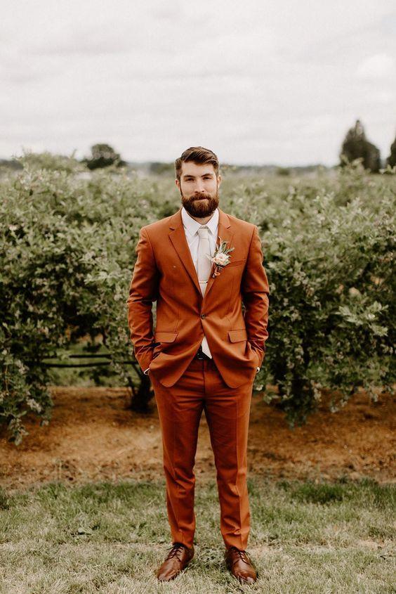 s'habiller homme mariage champêtre