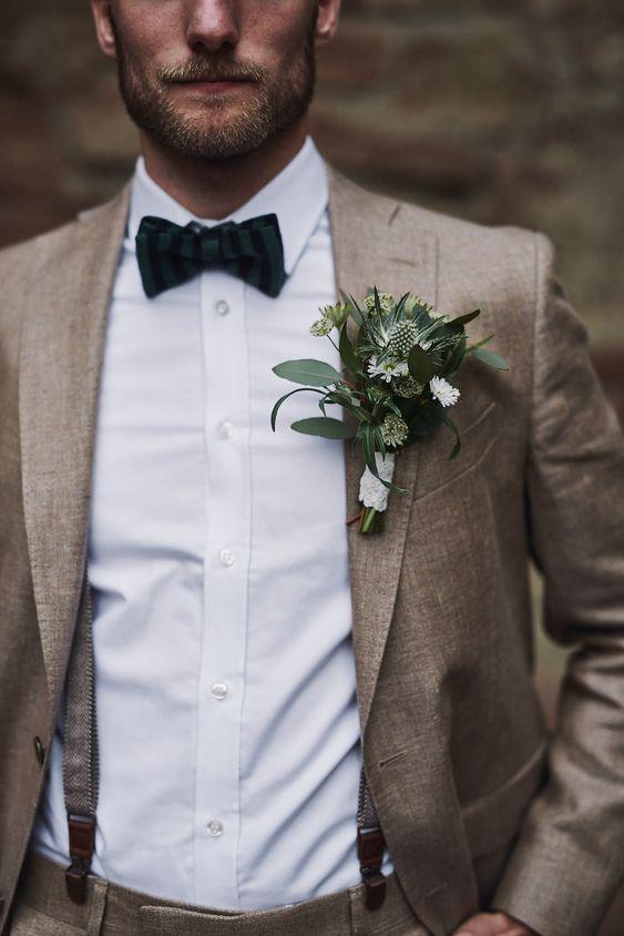 tenue homme mariage champêtre