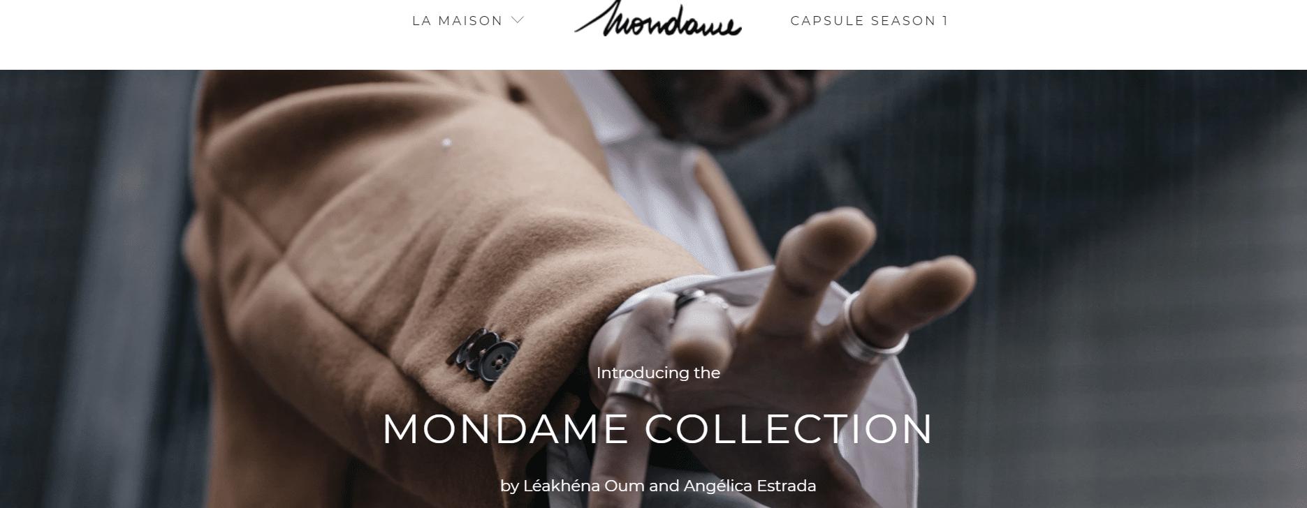 marque streetwear mondame