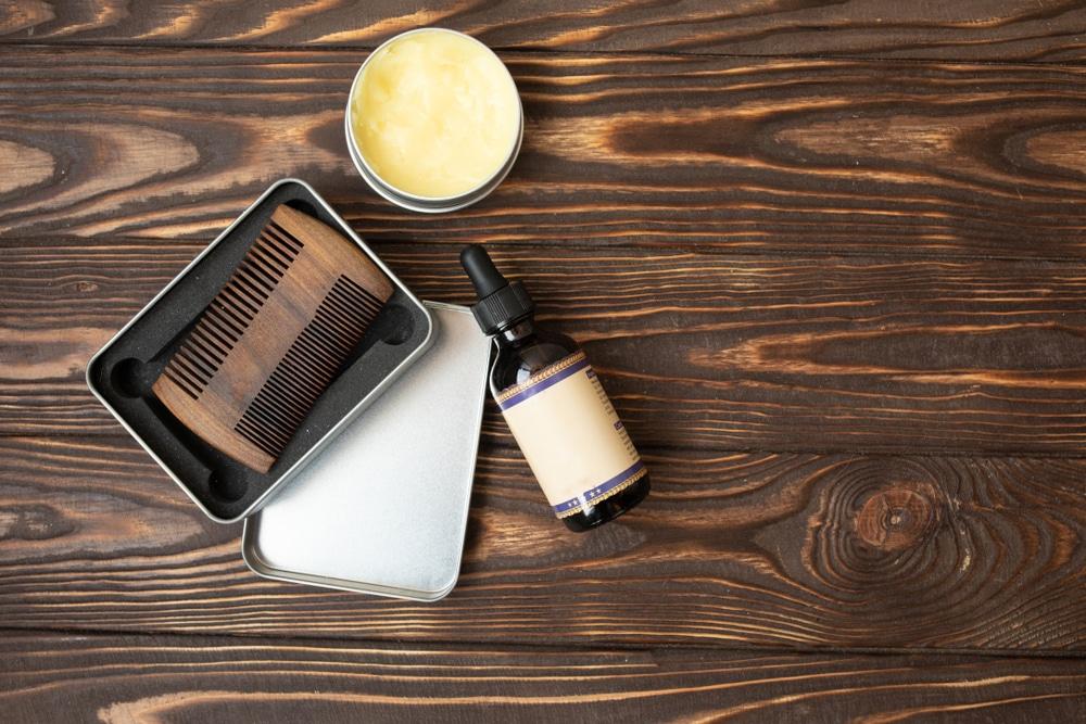 huile de ricin pour la barbe