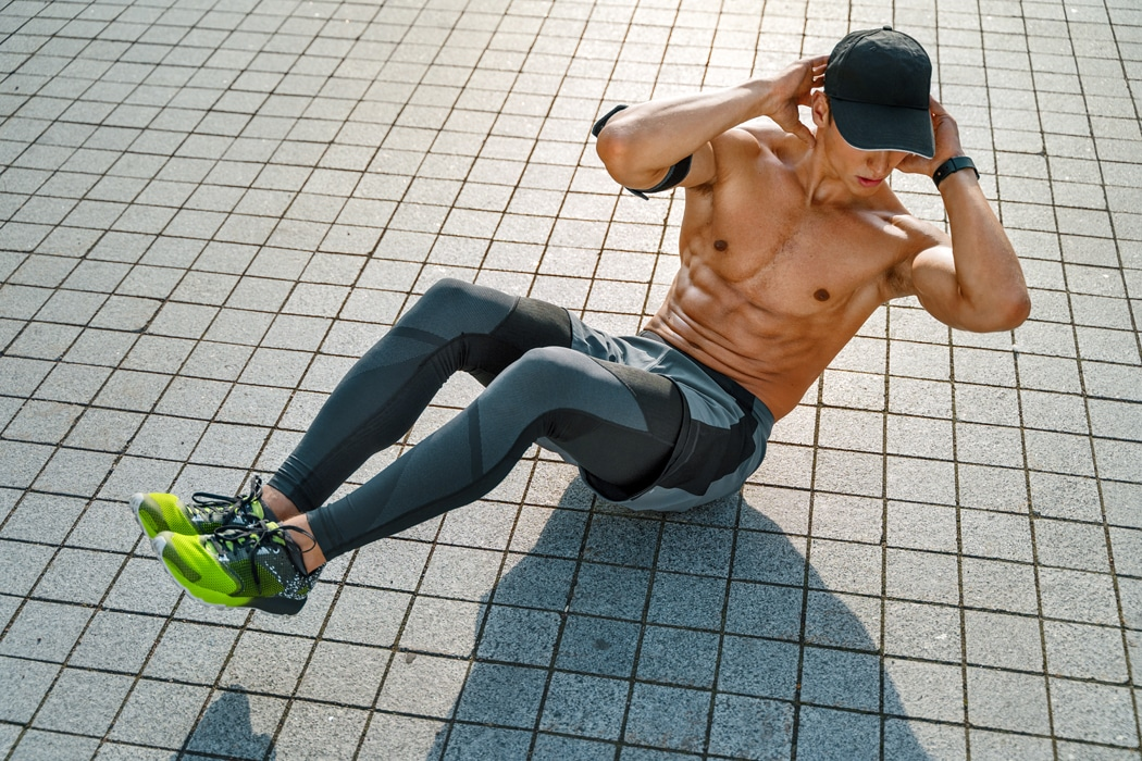 comment faire des abdos crunch exercices