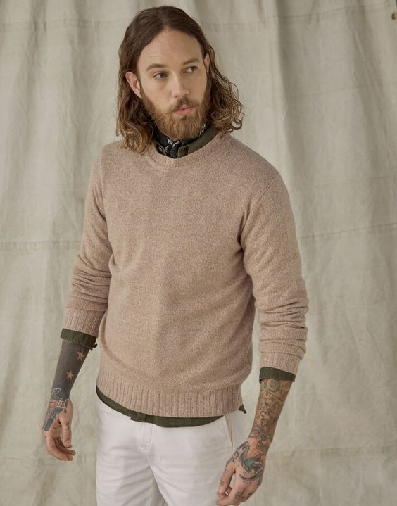 pull cachemire pour homme