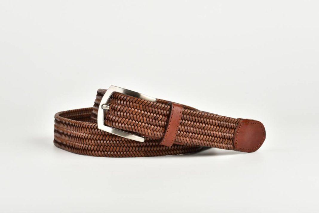 La ceinture tressée pour homme : votre atout style