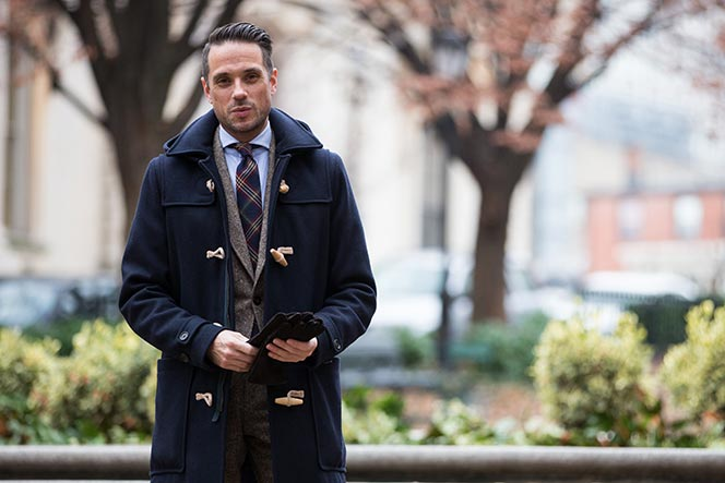 idées de looks duffle coat homme