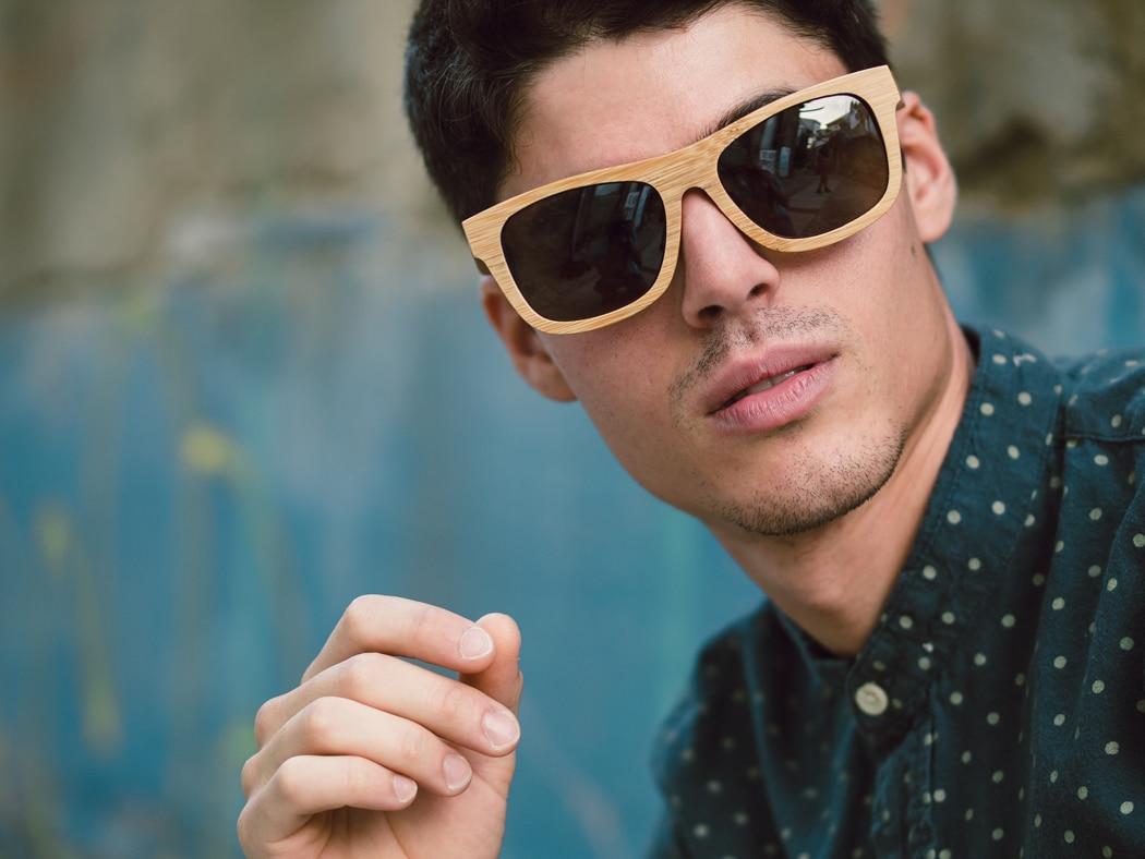 lunettes soleil bois