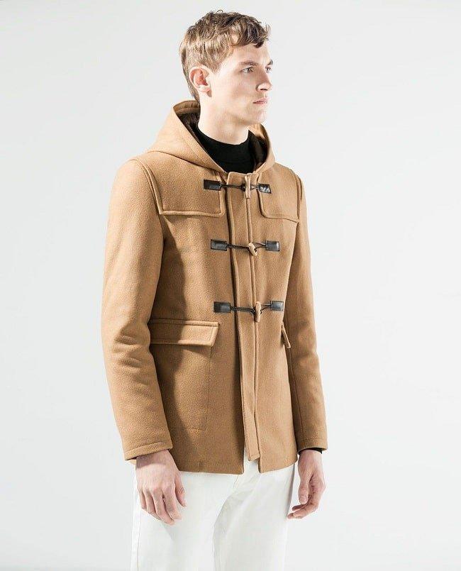 manteau duffle-coat homme