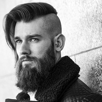 undercut long homme