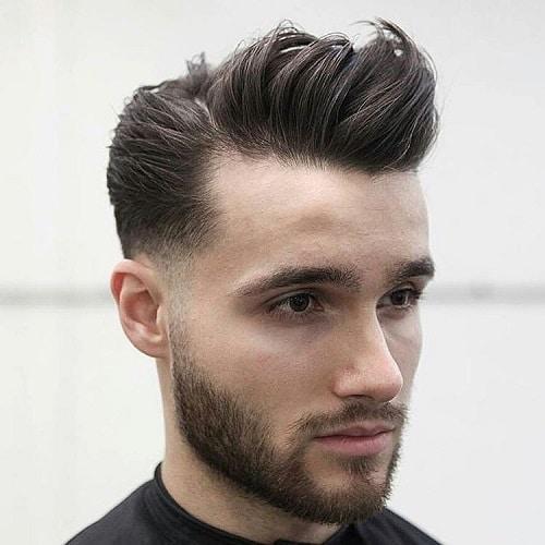 homme-coupe-pompadour-pour cheveux fins