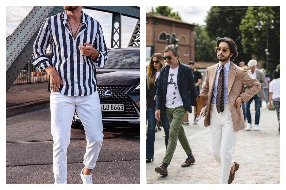 Comment porter le pantalon blanc pour homme