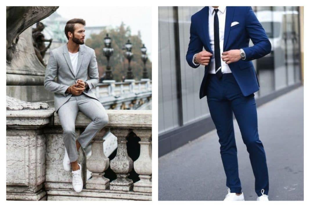 Porter un costume avec des baskets mode d'emploi
