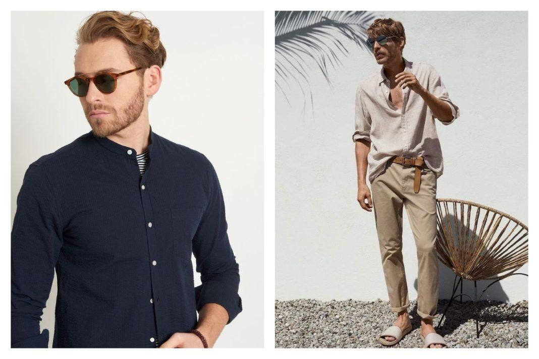Comment porter la chemise en lin homme