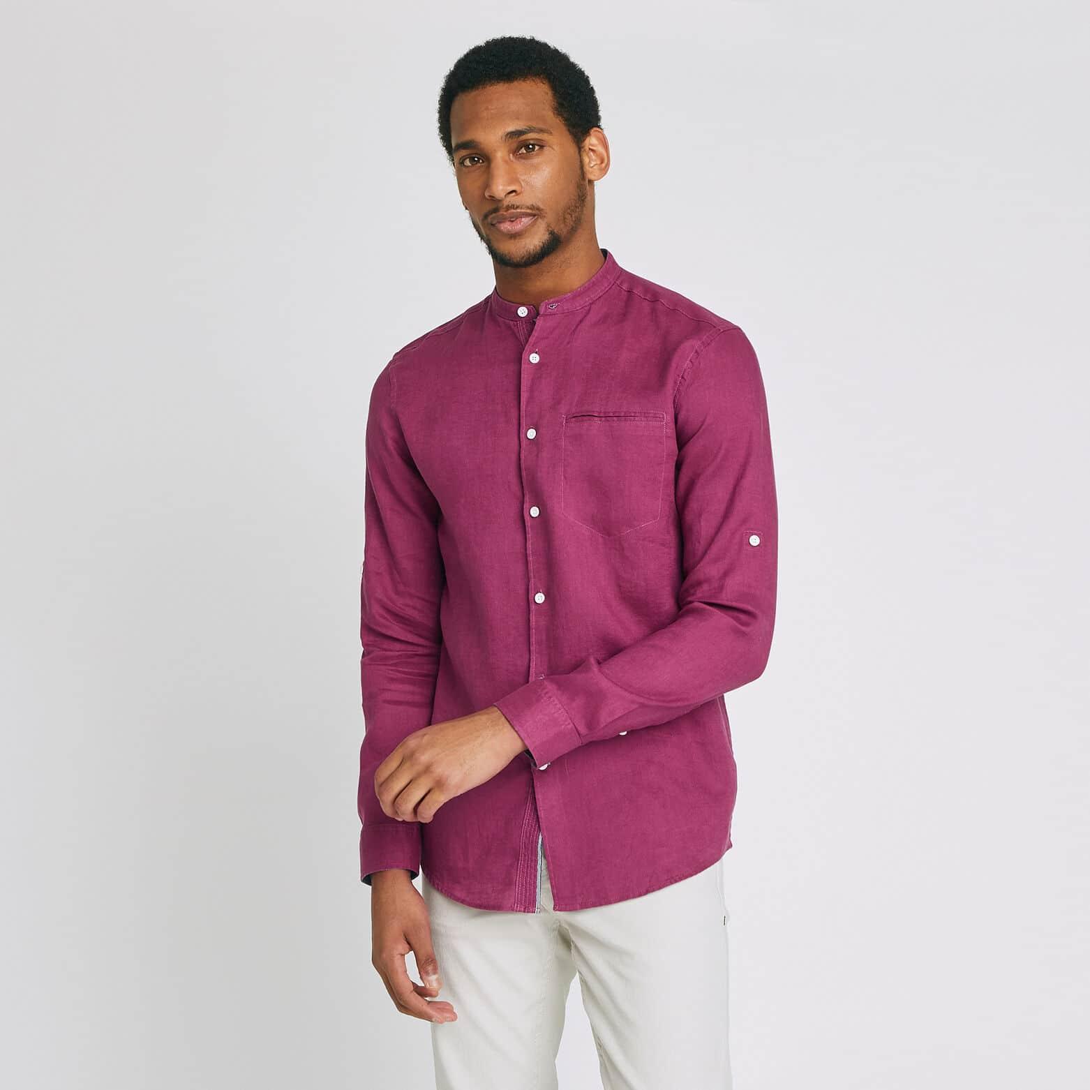 chemise lin homme