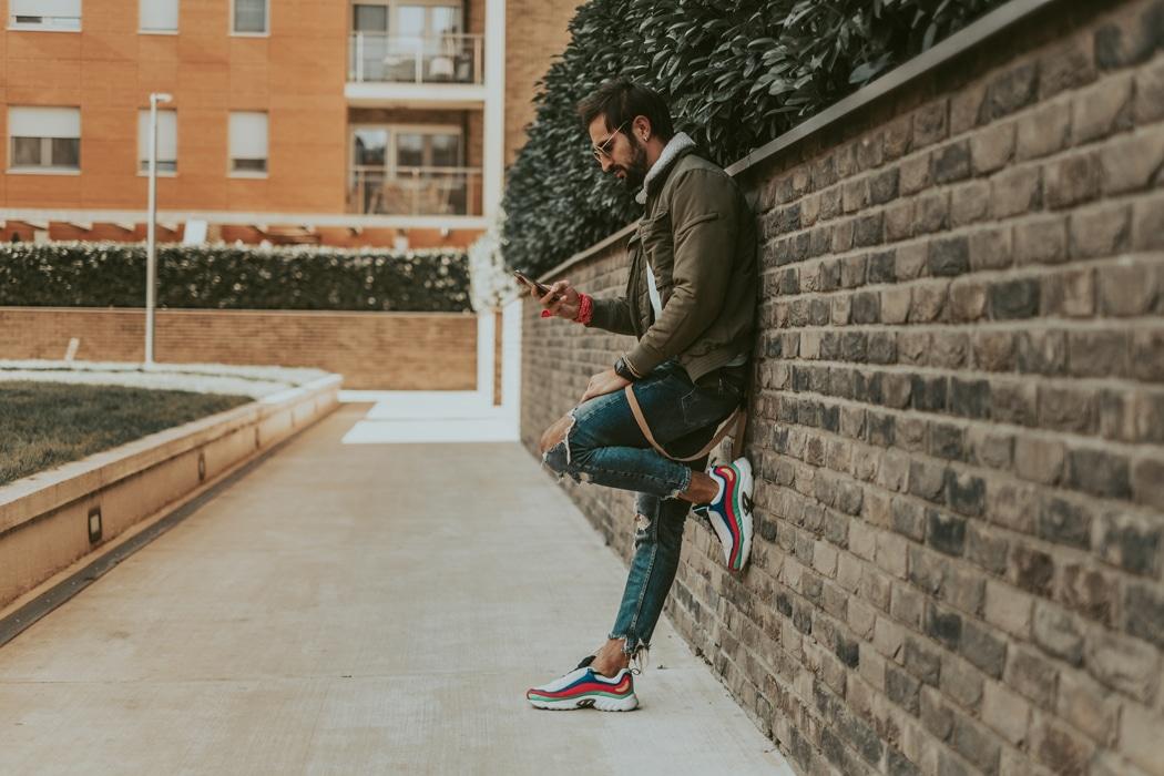 tendances sneakers homme