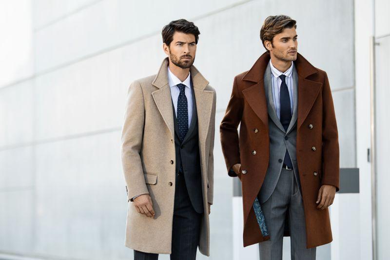 manteaux homme sur costume