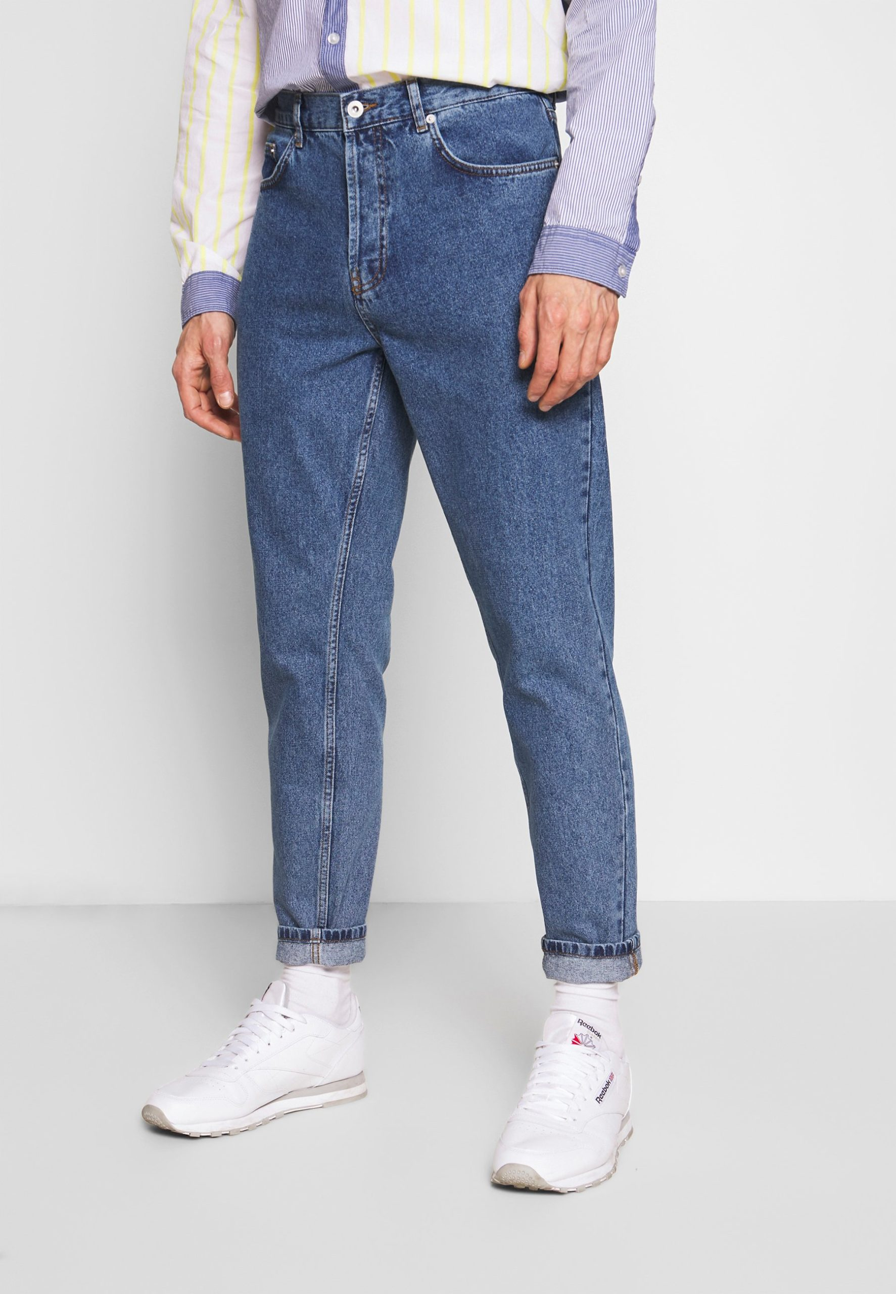jean large homme