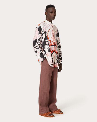 pantalon large homme look